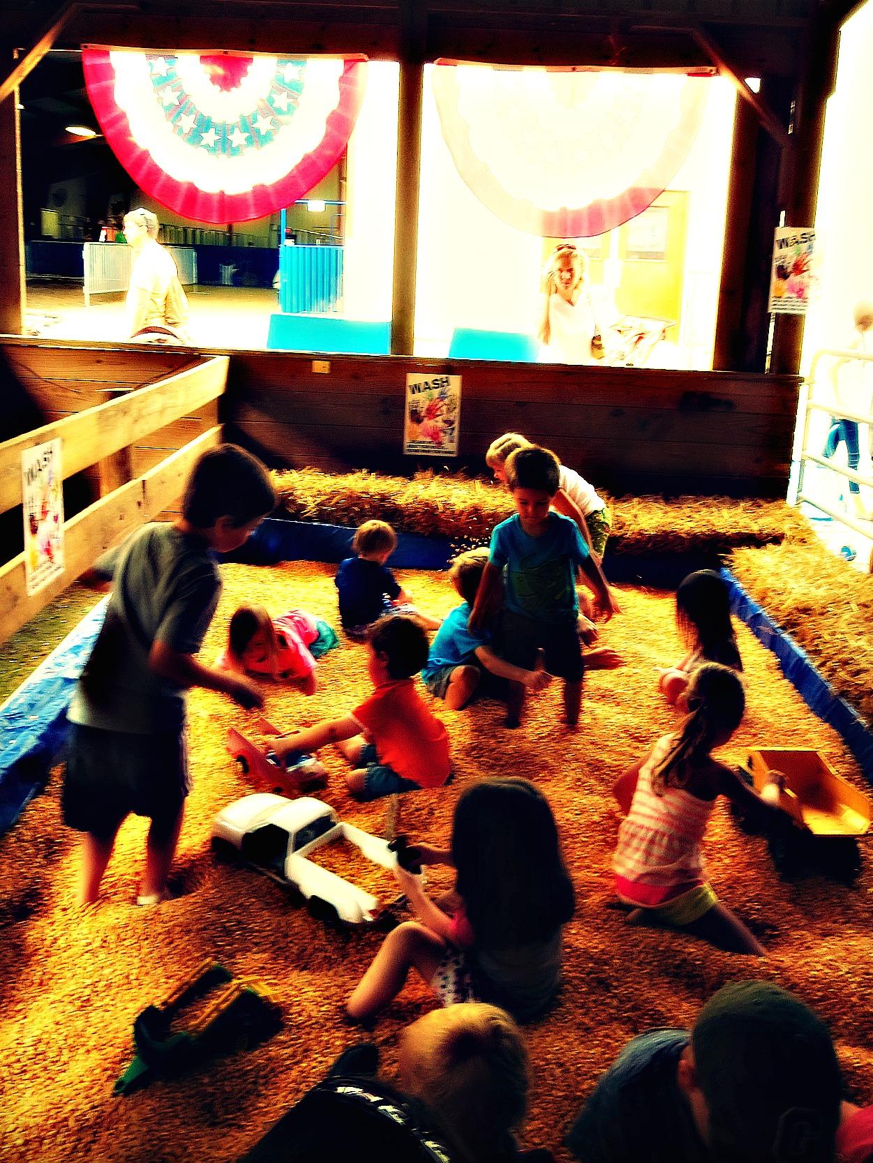 toddler fun at the howard county fair