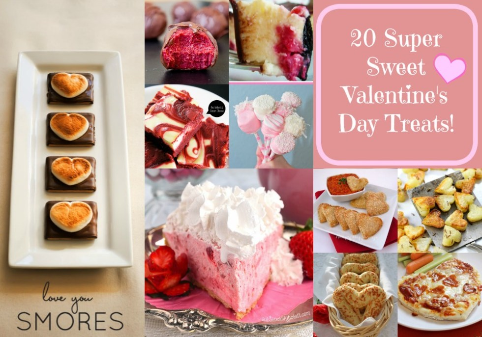 Super Sweet Valentine's Day Treats