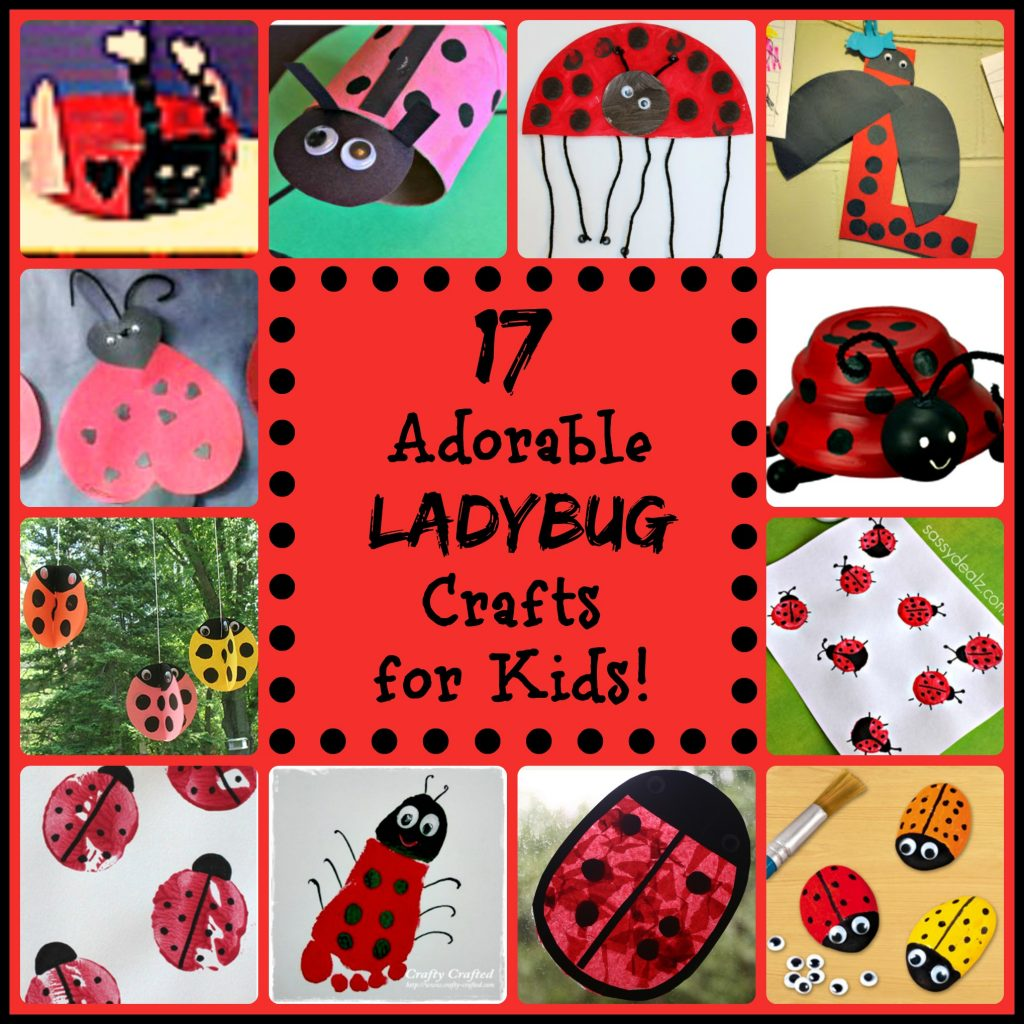 17 Little Ladybug Crafts For Kids