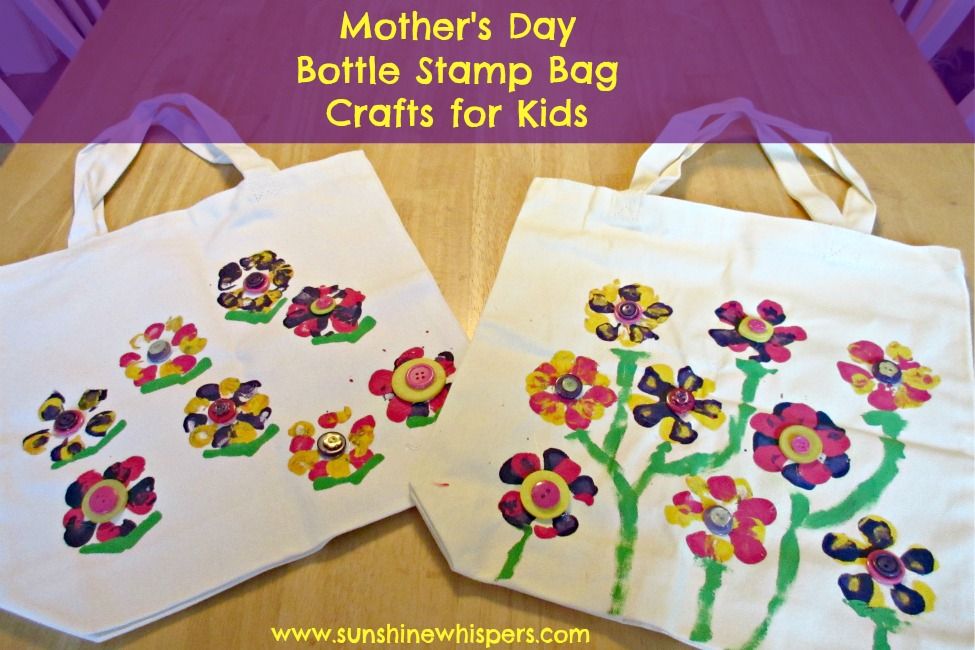 childrens mothers day crafts s day crafts for bottle stamp bag 3541