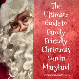 family friendly Christmas fun in Maryland