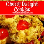 Delicious Christmas Cookie Recipes: Cherry Delights