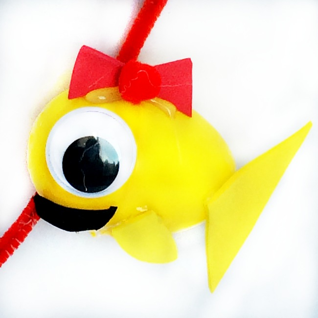 swim swim christmas ornament crafts for kids
