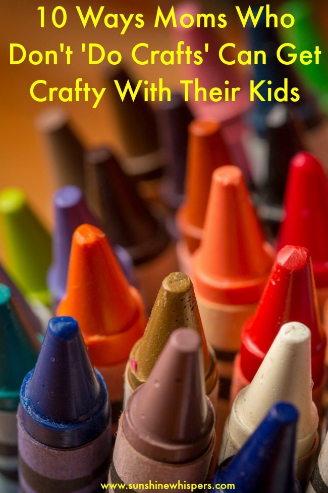 get crafty with kids