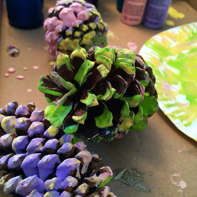 pine cone crafts for kids