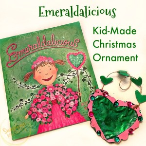 Emeraldalicious Kid-Made Christmas Ornament Craft