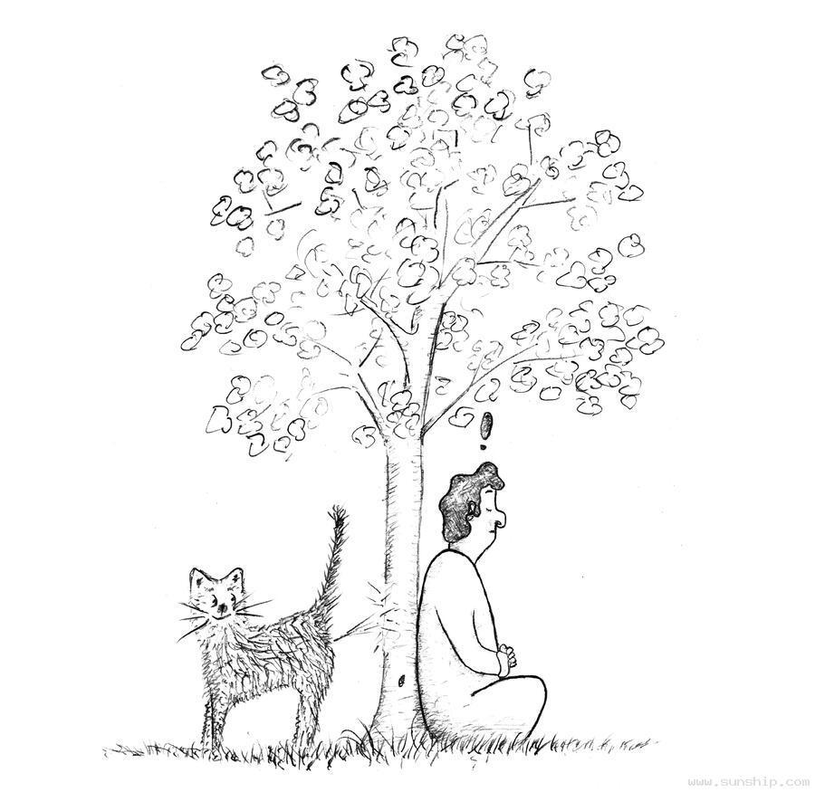 Meditation Cartoons