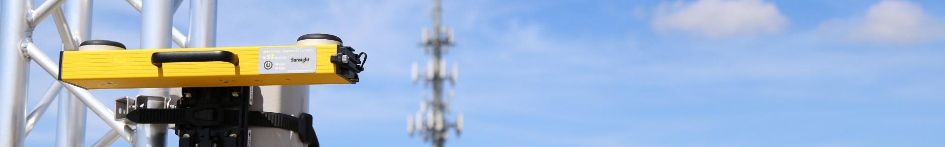 microwave antenna alignment sunsight