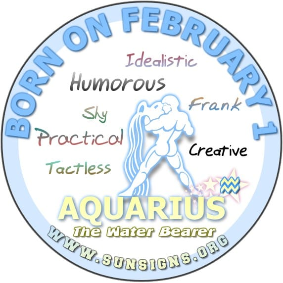 February 1 Zodiac Horoscope Birthday Personality ...