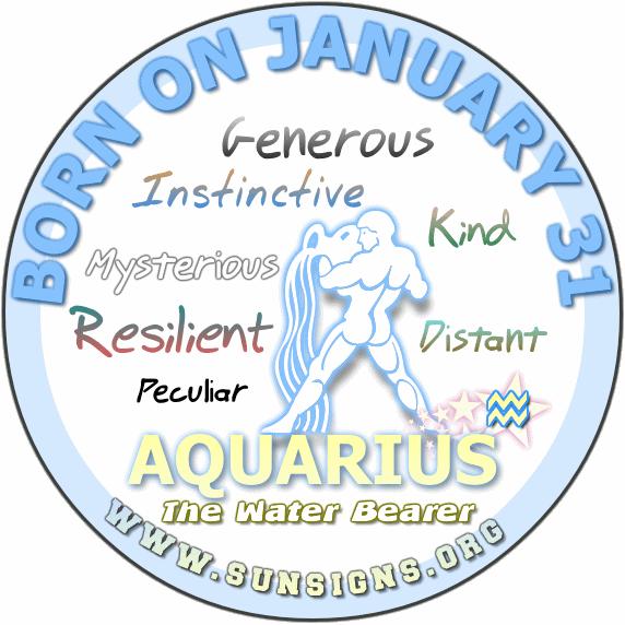 January 31 Zodiac Horoscope Birthday Personality | SunSigns.Org