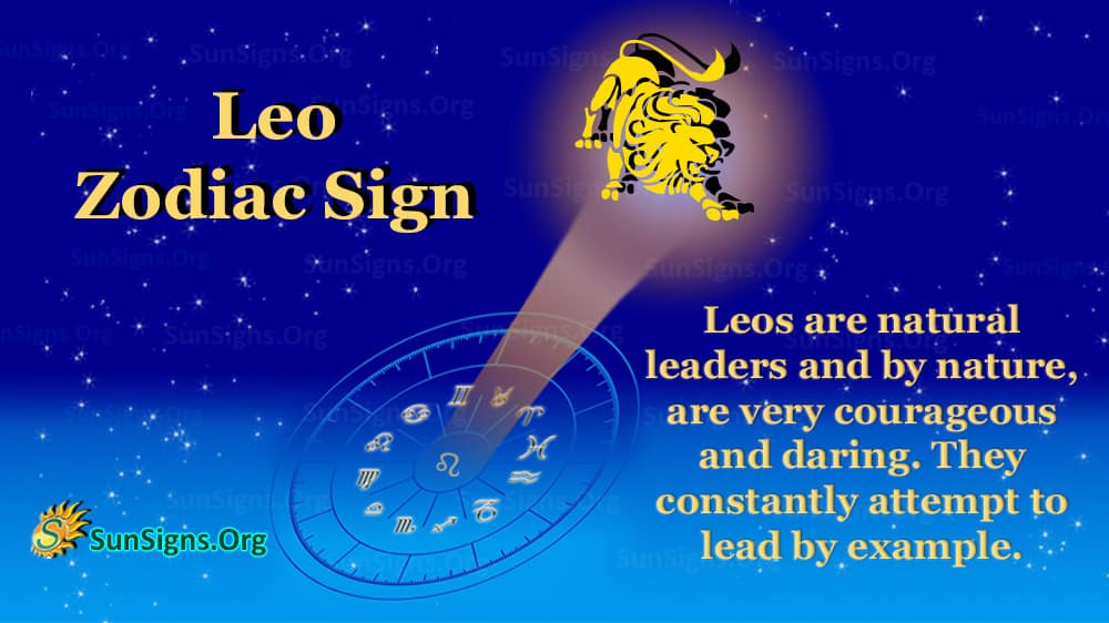 leo zodiac sign facts