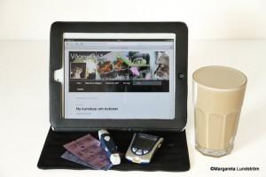 LCHF-kaffet mixat med Magic Bullet