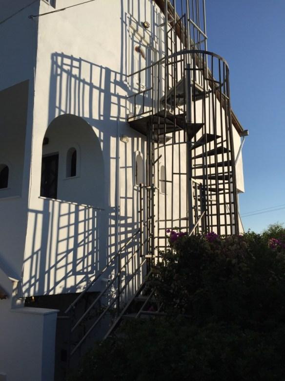 Trappan upp till vår lägenhet