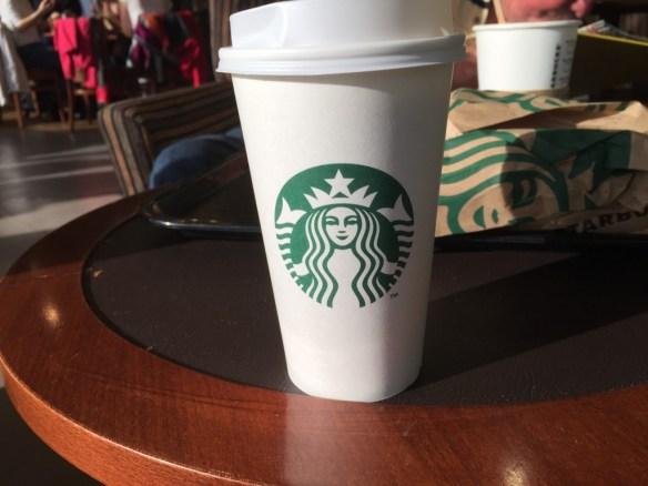 Kaffe på flygplatsen