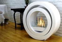 Roma Round Freestanding bio fireplace | Sunsource