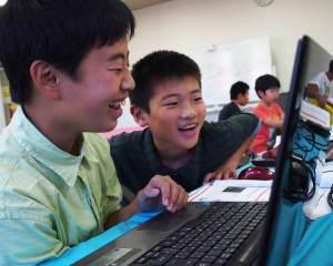 香川県高松市こどもITプログラミングものづくり教室サンステップ授業風景001