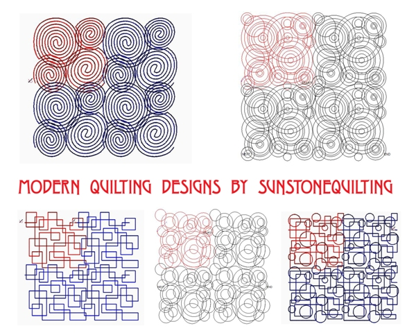 New Digital Designs For Longarm Quilters Sunstone Quilting