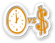 Time verse Money
