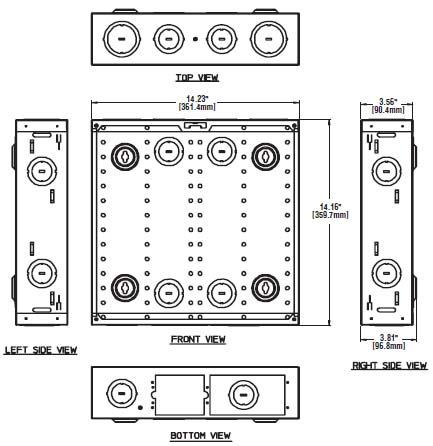 Structured Wiring Enclosure ( Structured Media Center