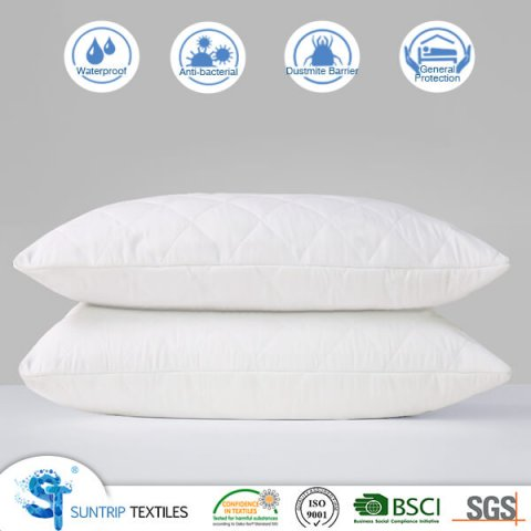 waterproof pillow protector cover