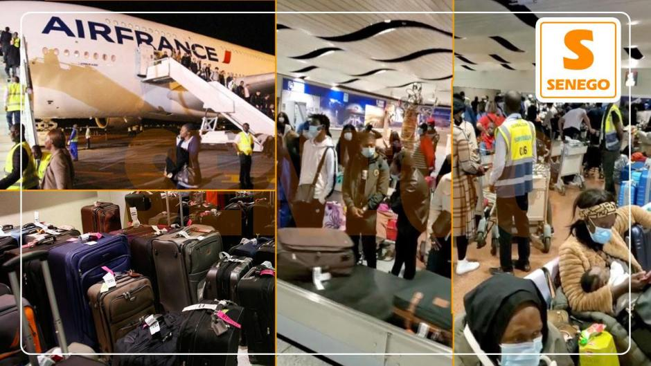 AIBD : Des passagers de Air France victimes de mauvais traitements… (Senego Tv)ParAnkou Sodjago 18/12/2020 à 11:20