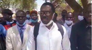 """Oussouye : Un prof arrêté par la gendarmerie, parce qu'il est """"militant de Pastef"""", sit-in (Vidéos)ParMangoné KA 24/02/2021 à 15:59"""