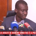 Revivez la conférence de presse des avocats de Ousmane Sonko (Senego-TV)ParCheikh Tidiane Kandé 02/03/2021 à 17:55