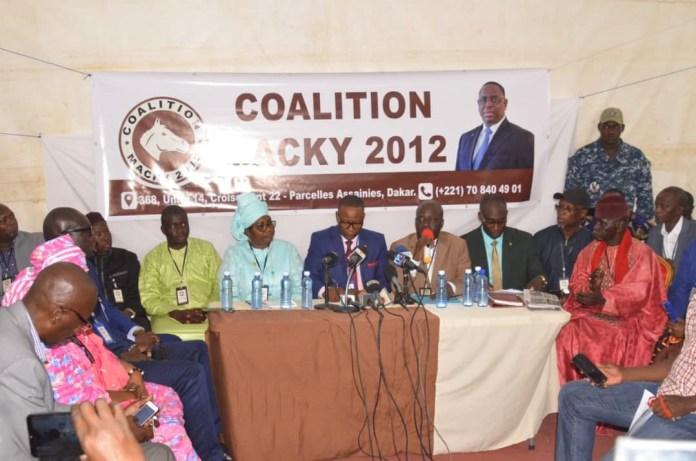 Communiqué de la Conférence des leaders de la coalition Macky 2012