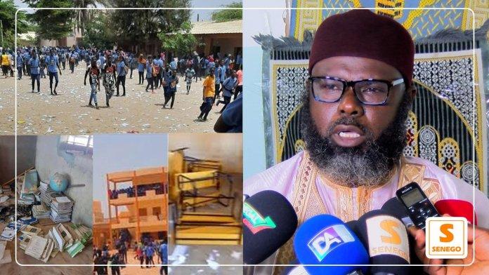 """Actes de vandalisme dans les écoles : """"C'est à l'image de la société"""" (Imam Oumar Sall) (Senego tv)ParThierno Malick Ndiaye 20/07/2021 à 13:12"""