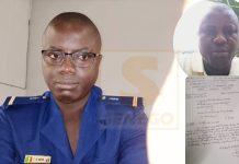Exclusif : Finalement l'adjudant Théodore Biram Ngom dépose sa lettre de démission de la gendarmerieParCheikh Tidiane Kandé 24/09/2021 à 8:27