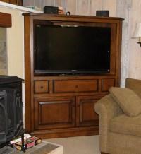 Corner Tv Cabinets on Pinterest | Corner Tv, Tv Cabinets ...