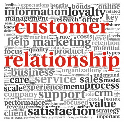 Customers relationships focus on what matters most