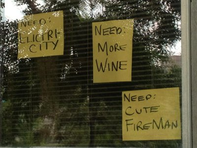 Humor Adaptability Calgary Flood Wine and Firefighter