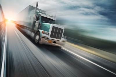 Truck on highway strategic versus tactical driving