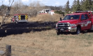 Grass Fire - Putting Out Fires