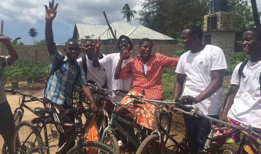 Bicycle Shop Students - Creating Business Skills