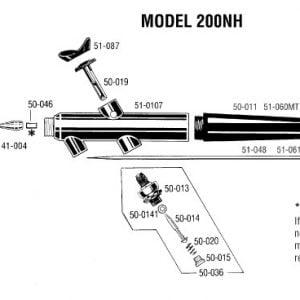 Badger AirBrush Mini Sandblast Abrasive Sprayer Set 260-1