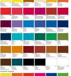 vallejo acrylic artist fluid colours chart [ 2416 x 3353 Pixel ]