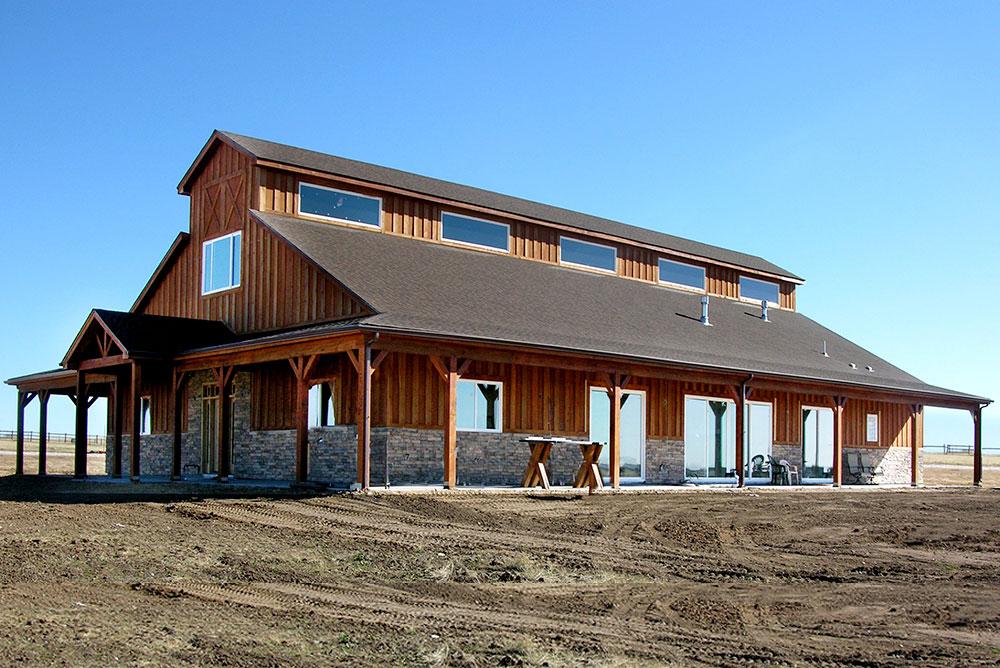 Barndominiums  Barn Home Kits  Shops with Living Quarters