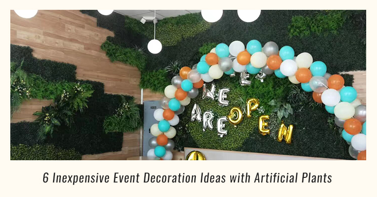 event-decoration-ideas-with-artificial-plants