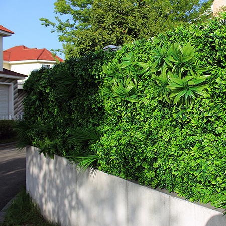 Outdoor Artificial Plants Wall