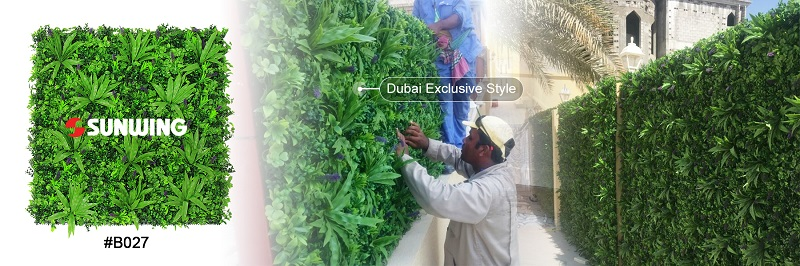 dubai exclusive artificial plants styles