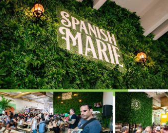Spanish Marie Feature Wall