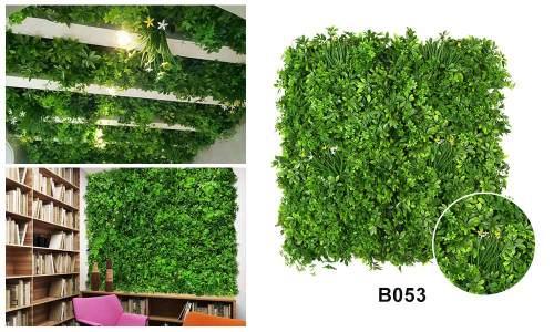 B053 artificial greenery wall panels