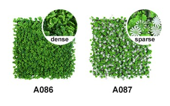 appearance of A086, A087 artificial hedge panels