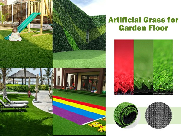 artificial grass for garden floor and its landscape