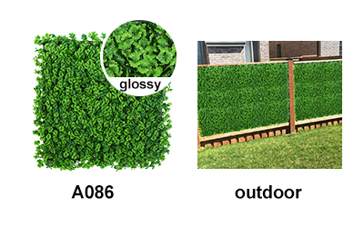 outdoor landscape of A086 artificial foliage mats