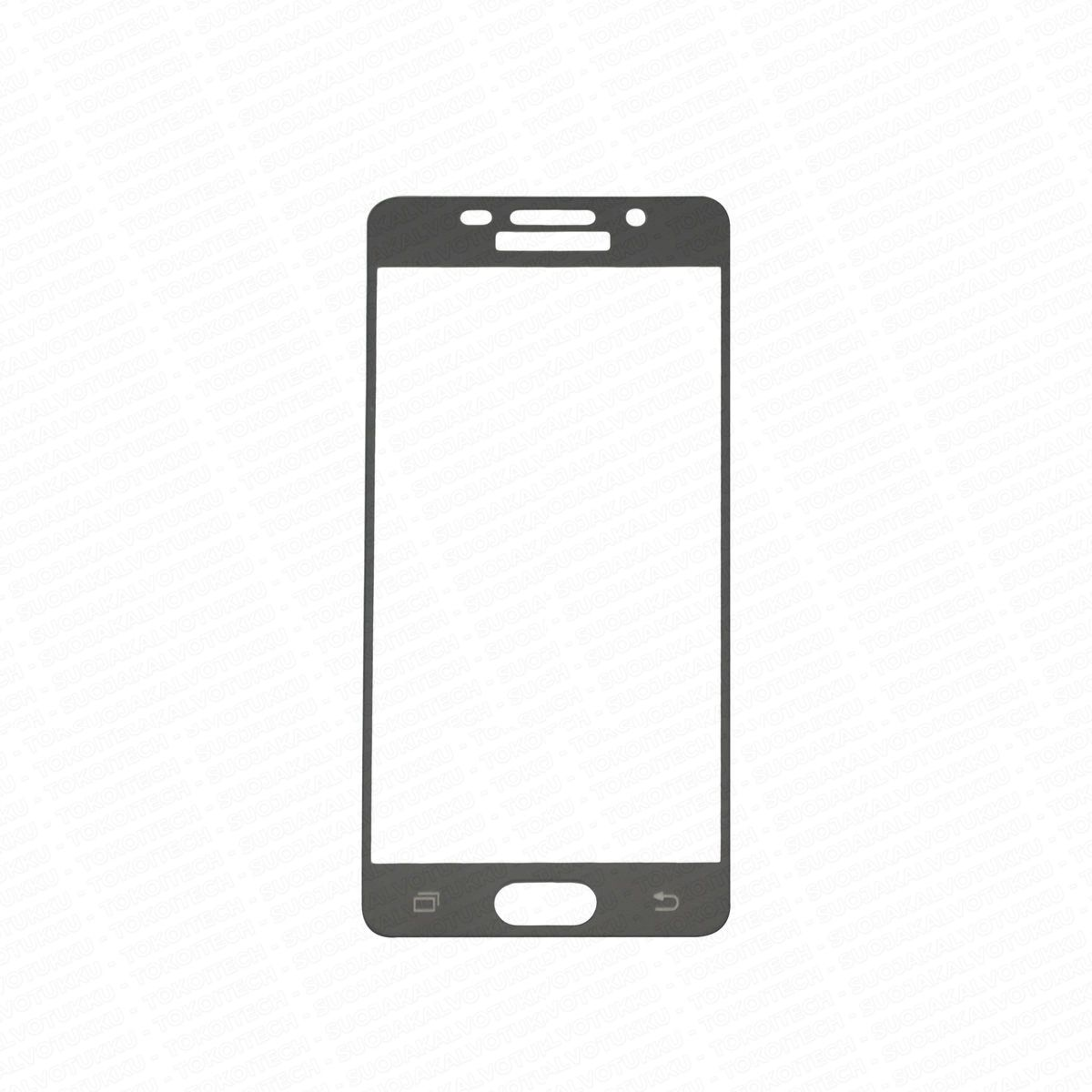 Samsung Galaxy A3 (2016) panssarilasi, 2.5D Full Cover