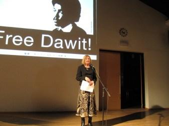 Suomen PEN Tallinnassa 23.11.2011. Marianne Bargum