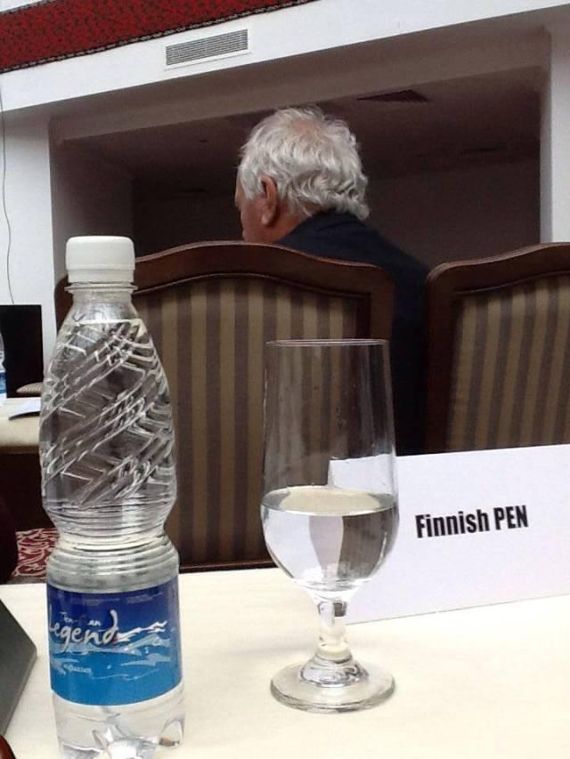 Finnish PEN has arrived in Bishkek_Leena Parkkinen